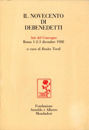 Il Novecento di Debenedetti