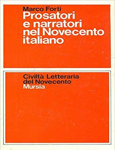 Prosatori e narratori nel Novecento italiano