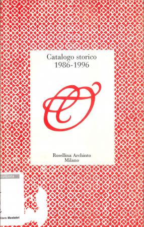 Catalogo storico 1986-1996