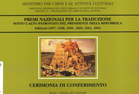 Premi nazionali per la traduzione