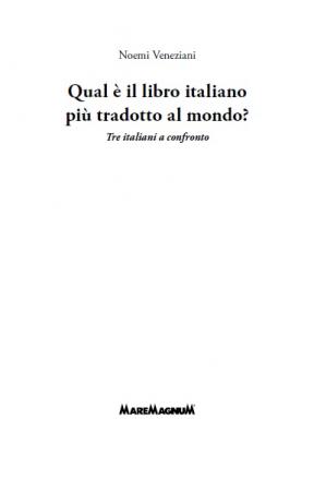 Qual è il libro italiano più tradotto al mondo?