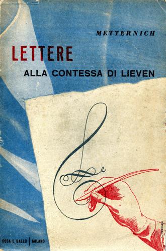 Lettere alla contessa di Lieven