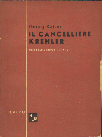 Il cancelliere Krehler (1922)