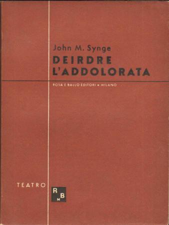 Deirdre l'addolorata (1910)